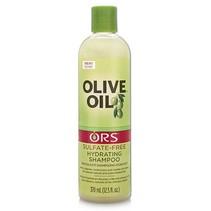 Olive Oil Sulfate Shampoo 12.5 oz