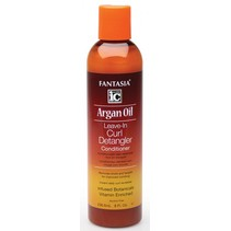 Argan Oil Leave-In Curl Detangler Conditioner 8 oz