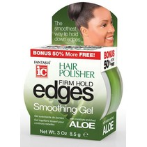 Hair Polisher Firm Hold Edges Smoothing Gel 3 oz