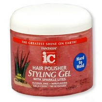 Hair Polisher Styling Gel Hard to Hold 16 oz
