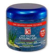 Hair Polisher Styling Gel for Color Treated Hair 16 oz