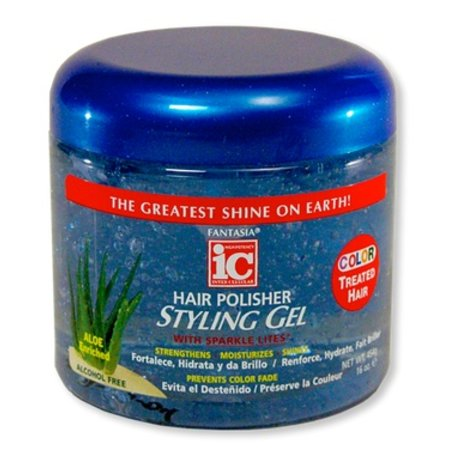 FANTASIA IC Hair Polisher Styling Gel for Color Treated Hair 16 oz