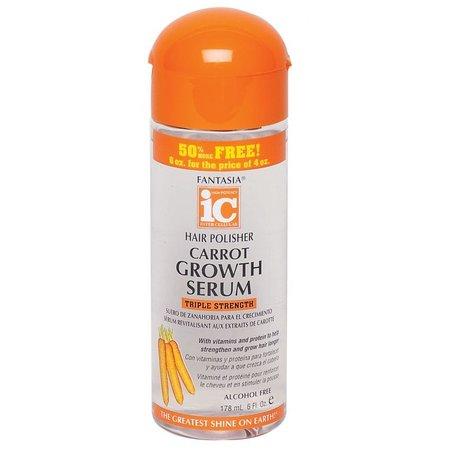 FANTASIA IC Hair Polisher Carrot Growth Serum 6 oz