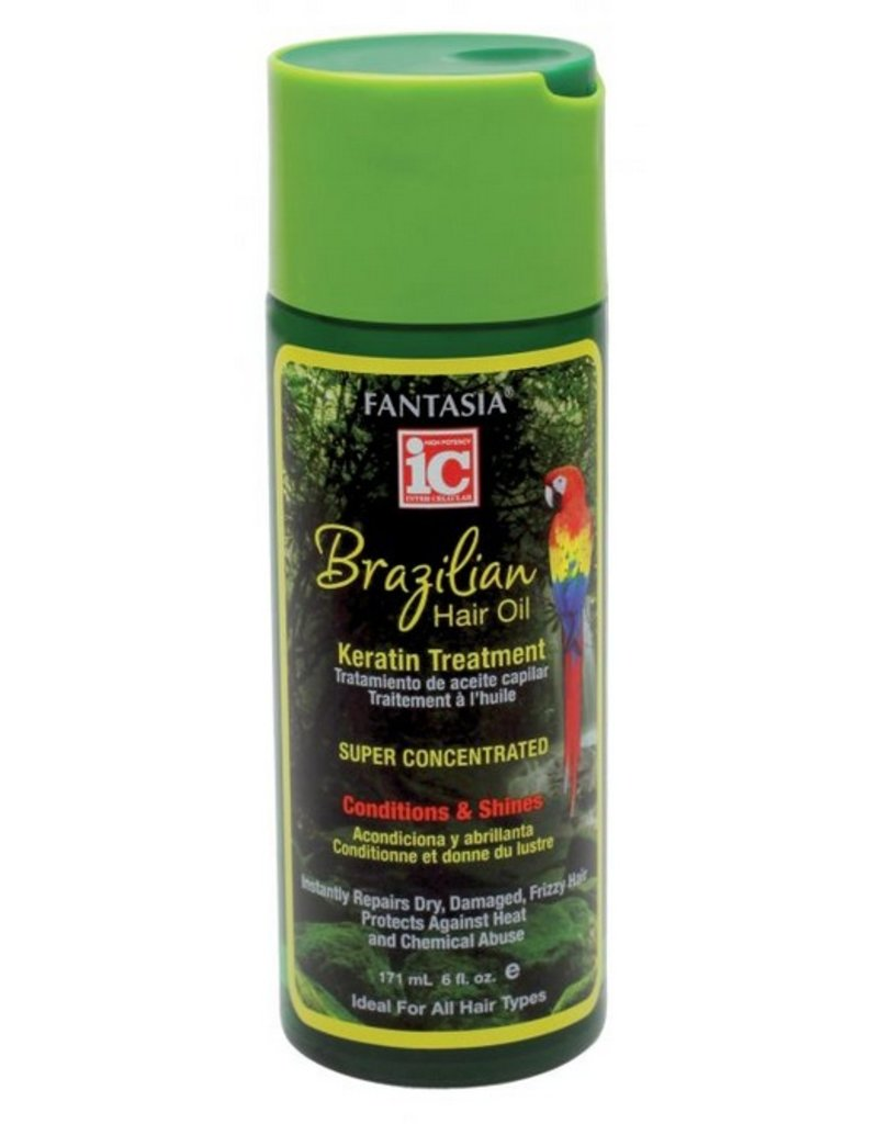 FANTASIA IC Brazilian Hair Oil Keratin Treatment Serum 6 oz