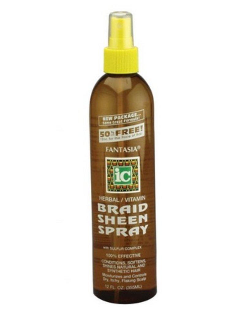 FANTASIA IC Braid Sheen Spray 12 oz