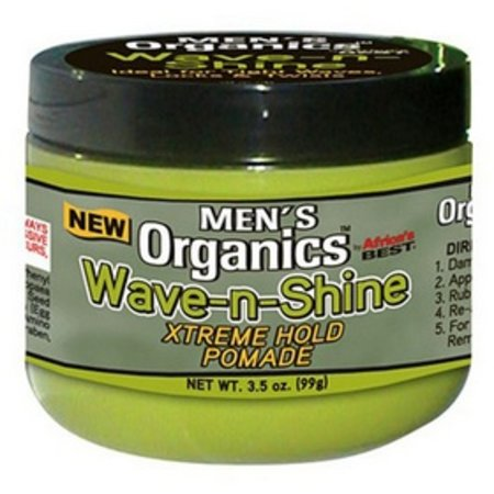 AFRICA´S BEST MEN´S ORGANICS Wave-n-Shine Xtreme Hold Pomade 3.5 oz