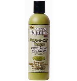 AFRICA´S BEST MEN´S ORGANICS Wave-n-Curl Keeper Moisturizing Hair Lotion 8 oz