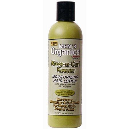 AFRICA´S BEST MEN´S ORGANICS Wave-n-Curl Keeper Moisturizing Hair Lotion 8 oz