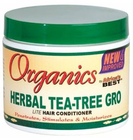 AFRICA'S BEST ORGANICS Herbal Tea-Tree Gro Hair Conditioner 4 oz