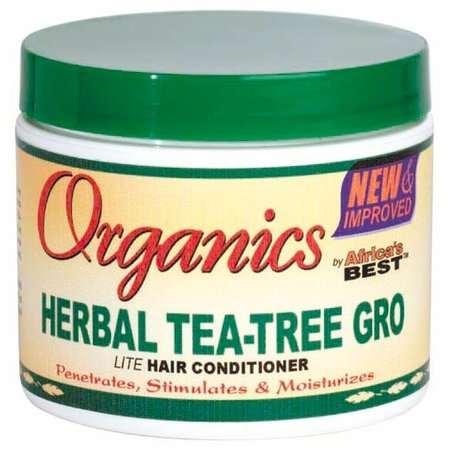 AFRICA'S BEST ORGANICS Herbal Tea-Tree Gro Hair Conditioner 4 oz