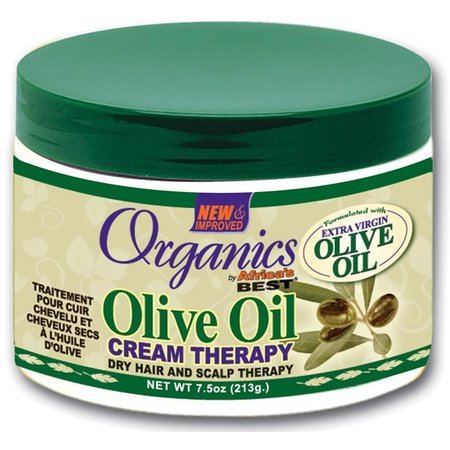 AFRICA'S BEST ORGANICS Olive Oil Cream Therapy 7.5 oz