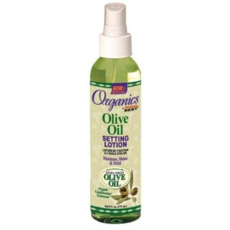 AFRICA'S BEST ORGANICS Olive Oil Setting Lotion 6 oz