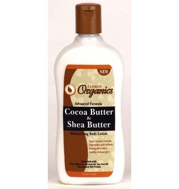 ULTIMATE ORGANICS Cocoa Butter & Shea Butter Body Lotion 12 oz