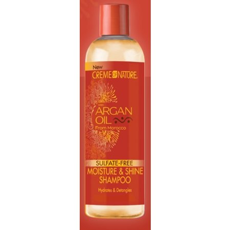 CREME OF NATURE - ARGAN OIL Moisture & Shine Shampoo 12 oz