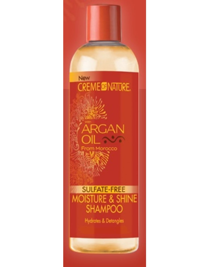 CREME OF NATURE - ARGAN OIL Moisture & Shine Shampoo 12 oz