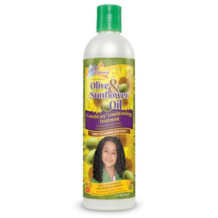 SOF N' FREE N' PRETTY Olive & Sunflower Oil CombEasy Conditioning Treatment 12 oz