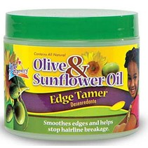 Olive & Sunflower Oil Edge Tamer 4 oz