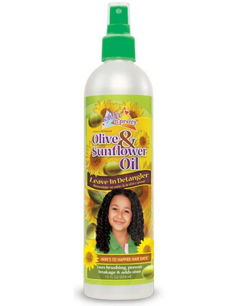 SOF N' FREE N' PRETTY Olive & Sunflower Oil Leave-In Detangler 12 oz