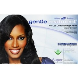 GENTLE TREATMENT No-Lye Conditioning Relaxer - Super