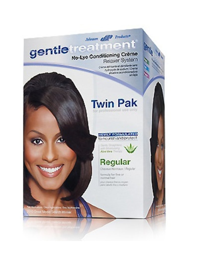 GENTLE TREATMENT No-Lye Conditioning Relaxer Twin Pak - Regular