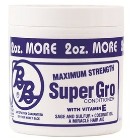 BRONNER BROTHERS Maximum Strength Super Gro Conditioner 6 oz
