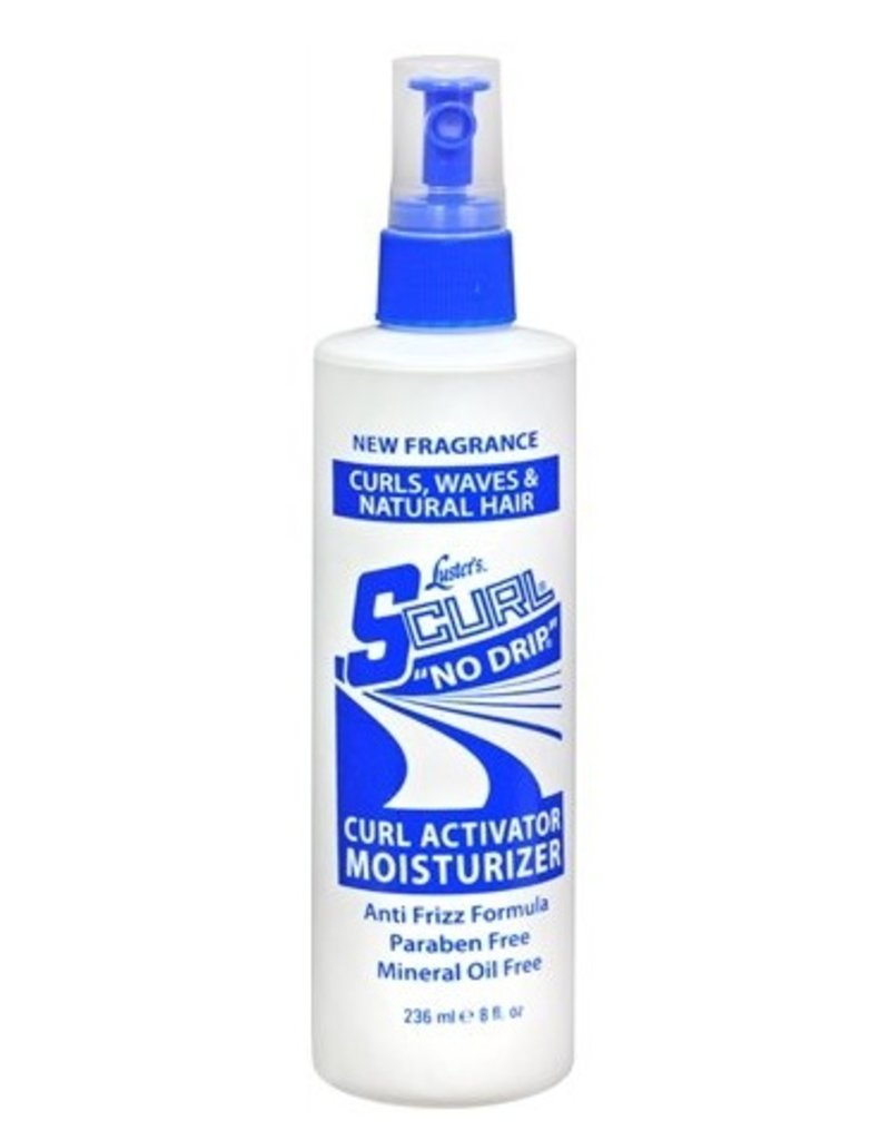 S-CURL No Drip Curl Activator Moisturizer 12 oz