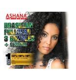 ASHANA HAIR - Bundle Fullhead + Closure (Brasilian)
