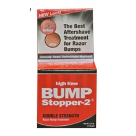 BUMP STOPPER - 2 Razor Bump Treatment 0.5 oz - Double Strength Formula