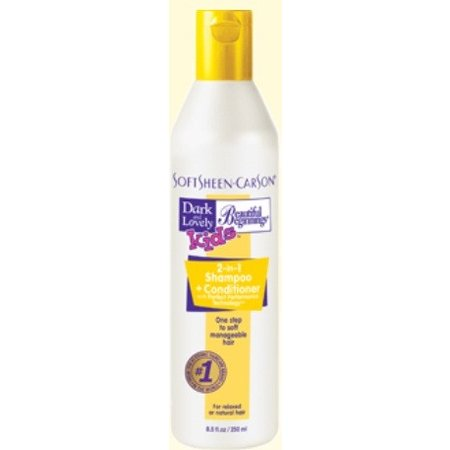 DARK & LOVELY BEAUTIFUL BEGINNINGS 2 in 1 Shampoo & Conditioner 8.5 oz