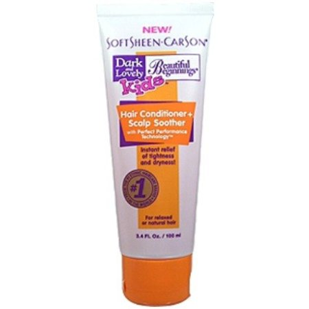 DARK & LOVELY BEAUTIFUL BEGINNINGS Hair Conditioner & Scalp Soother 3.4 oz