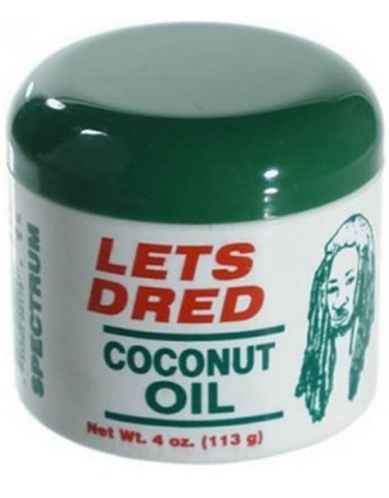 LETS DRED Coconut Oil 4 oz