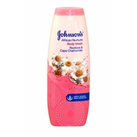 JOHNSON'S African Nurture Body Wash Rooibos & Cape Chamomile 400 ml.