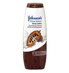 JOHNSON'S African Nurture Body Lotion Nourishing Cocoa Butter & Honeybush 400 ml.
