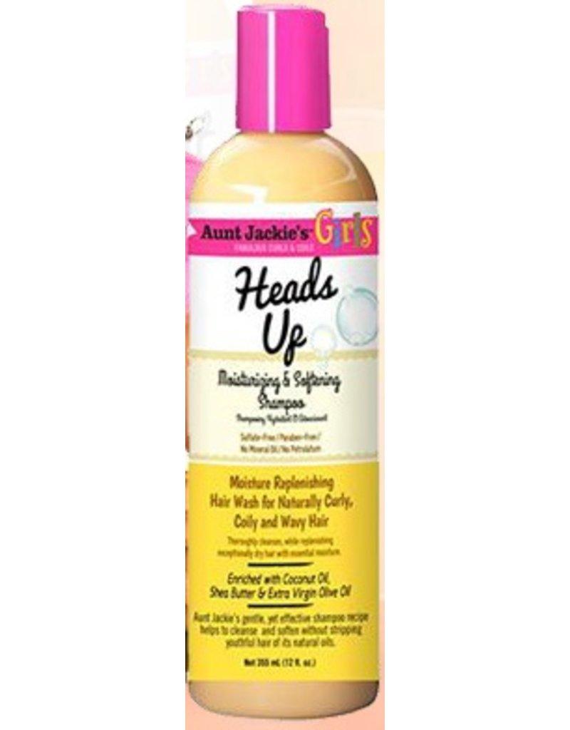 AUNT JACKIE'S Heads Up Moisturizing & Softening Shampoo 12 oz
