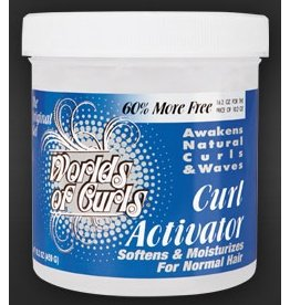 WORLDS OF CURLS Curl Activator Regular 32 oz