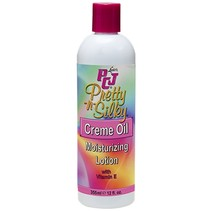 Pretty-n-Silky Creme Oil Moisturizing Lotion 12 oz