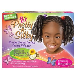 PCJ Pretty-n-Silky No-lye Conditioning Relaxer - Regular