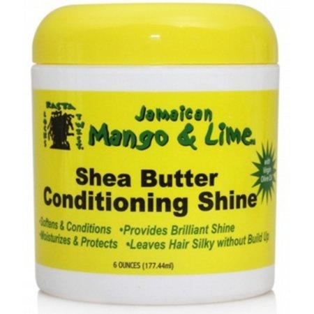 JAMAICAN MANGO & LIME Shea Butter Conditioning Shine 6 oz