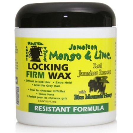 JAMAICAN MANGO & LIME Locking Firm Wax Resistant Formula 6 oz