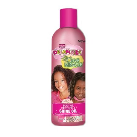 AFRICAN PRIDE DREAM KIDS Soothe, Restore & Shine Oil 6 oz