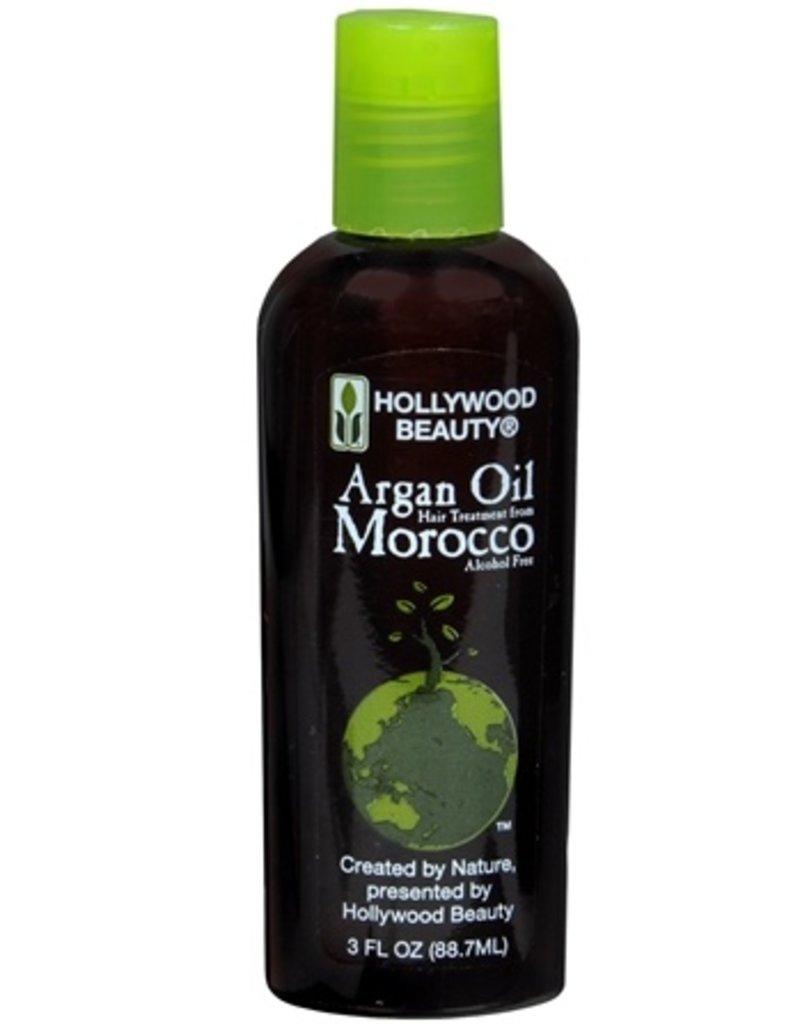 HOLLYWOOD BEAUTY Argan Oil Morocco Hair Treatment 3 oz