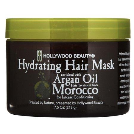 HOLLYWOOD BEAUTY Argan Oil Morocco Hydrating Hair Mask 7.5 oz