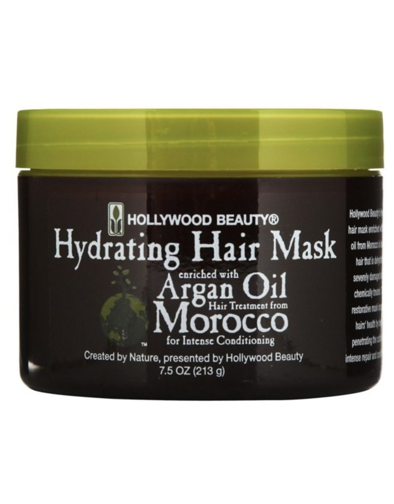 HOLLYWOOD BEAUTY Argan Oil Morocco Hydrating Hair Mask 7.5 oz