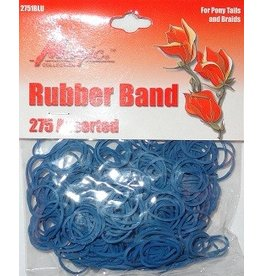 Rubber Bands (elastiekjes) - blauw