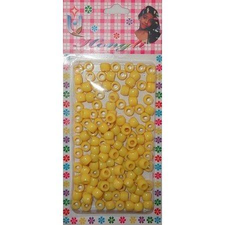 Kralen dicht - geel