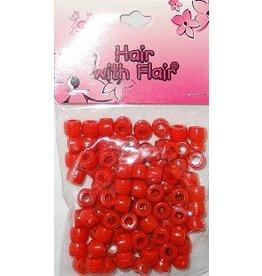 Kralen (100 stuks) - rood