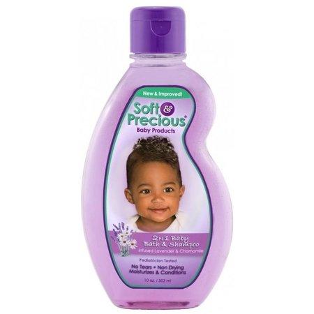 SOFT & PRECIOUS 2-n-1 Baby Bath & Shampoo 10 oz