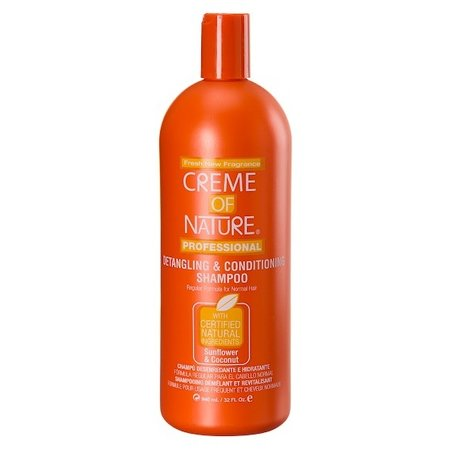 CREME OF NATURE Detangling & Conditioning Shampoo Sunflower & Coconut 32 oz
