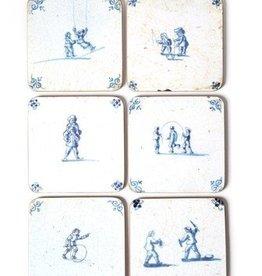 Lanzfeld Onderzetters Delft/Children games