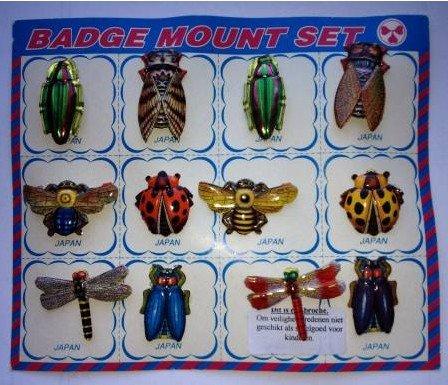Broche insecten